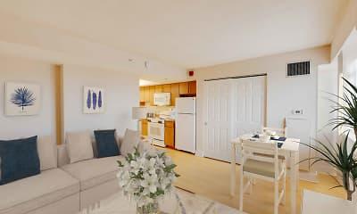 Living Room, Linden Park - Senior Living 62+, 1