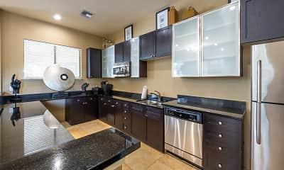 Kitchen, Mirador & Stovall Apartments At River City, 0