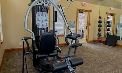 Fitness Weight Room, Portofino Apartments, 2