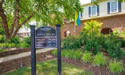 Community Signage, Quail Ridge Apartments, 2
