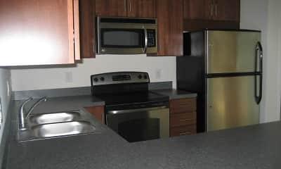 Kitchen, The Flats Herr Lane, 2