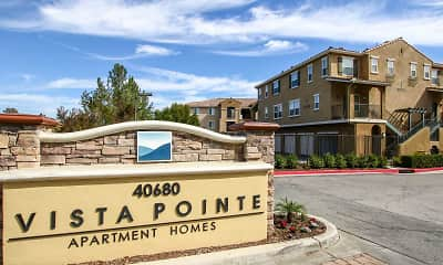 Community Signage, Vista Pointe Luxury Apartment Homes, 1