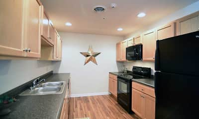 Kitchen, Summit Apartments, 1