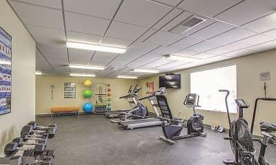 Fitness Weight Room, The Brunswick Community, 2