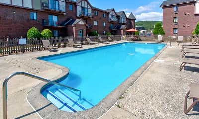 Pool, Rivers Edge Apartments, 1