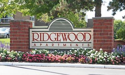 Community Signage, Ridgewood Apartments, 2