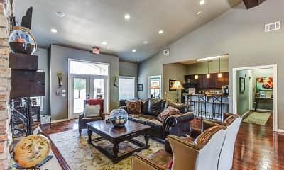 Living Room, Brickstone Villas Apartments, 0