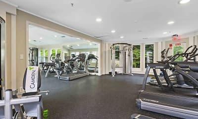 Fitness Weight Room, Camden Russett, 2
