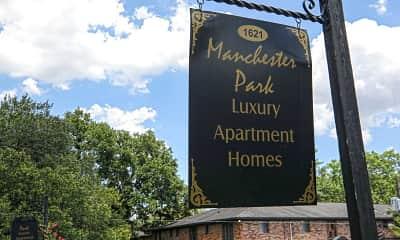 Community Signage, Manchester Park Apartments, 2