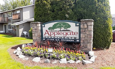 Community Signage, Applegate, 0