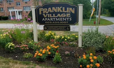 Community Signage, Franklin Village Apartments, 0
