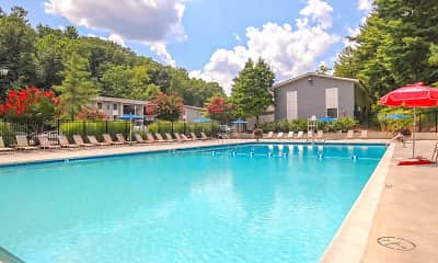 Pool, Pebble Creek Apartment Homes, 1