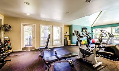 Fitness Weight Room, Vue Kirkland, 2