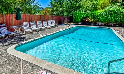 Pool, Sherwood Oaks, 1