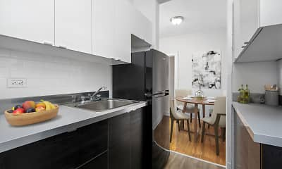Kitchen, 632-644 W. Addison, 1