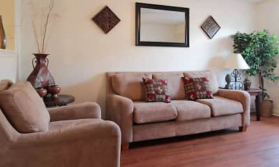 Living Room, Garners Crossing Apartments, 1