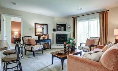 Living Room, Walnut Crossing, 0