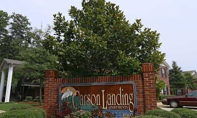 Community Signage, Carson Landing, 2