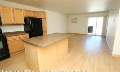 Kitchen, Badland Apartments, 1
