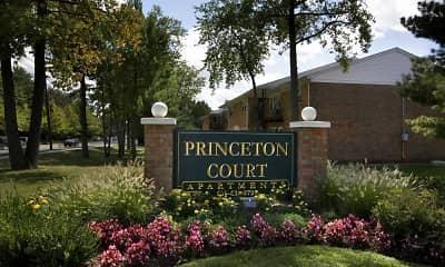 Community Signage, Princeton Court, 2