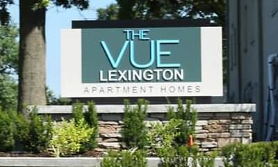 Community Signage, The Vue Lexington, 0