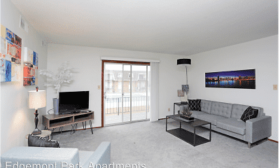 Living Room, Edgemont Park Apartments, 0