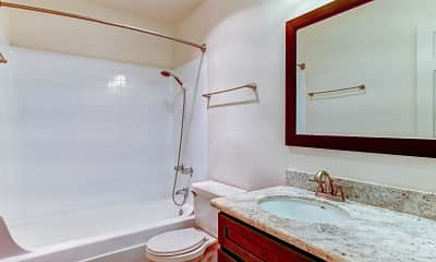 Bathroom, Central Park Apartments, 2