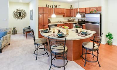 Dining Room, Parkwood Pointe Apartments, 1