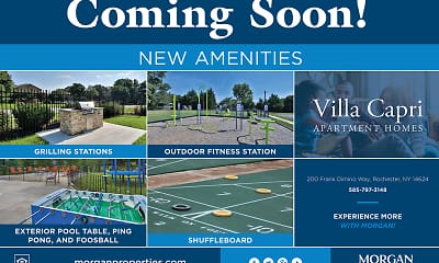 Community Signage, Villa Capri Apartment Homes, 2