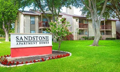 Community Signage, Sandstone Apartments, 2