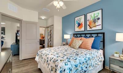 Bedroom, Art Avenue Apartments, 1