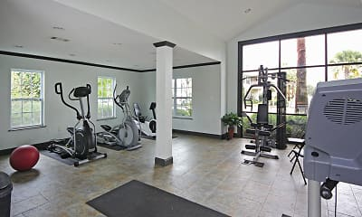 Fitness Weight Room, The Palms, 1