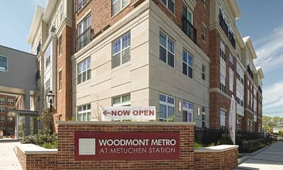Community Signage, Woodmont Metro at Metuchen Station, 2
