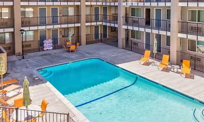 Pool, Trio Apartments, 1