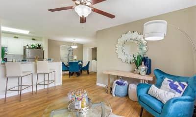Living Room, Lexington Palms at the Forum, 1
