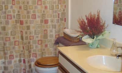 Bathroom, Hoover Estates Apartments, 2
