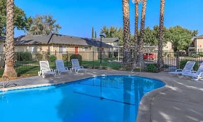 Pool, Parkwood Apartments, 0