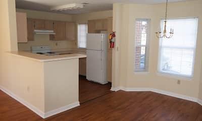 Kitchen, Ashworth Woods, 1