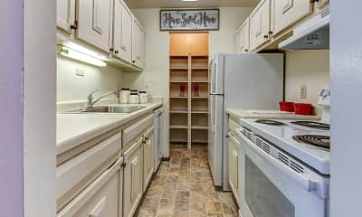 Kitchen, The Carolina Apartments, 0