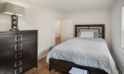Bedroom, Hamilton Apartments, 2