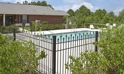 Pool, Austin Pointe Apts., 1
