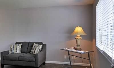 Living Room, Vineville Townhomes, 2