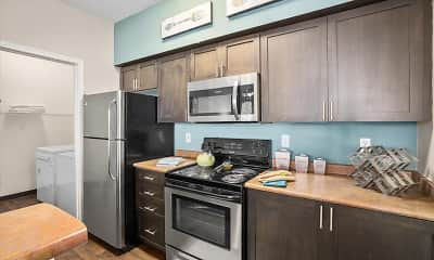 Kitchen, WildReed Apartments, 1