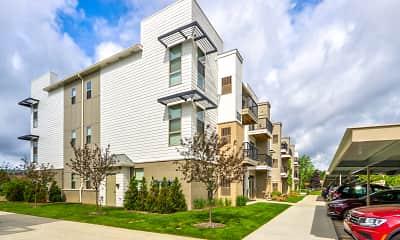 Building, Five Points Apartments, 0