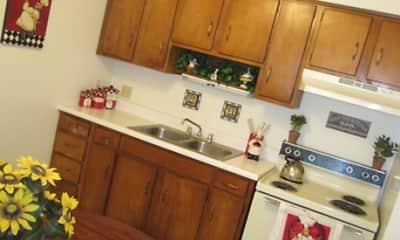 Kitchen, Glanzman Village of South Toledo, 1