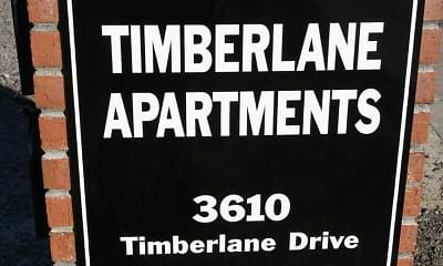 Community Signage, 3610 Timberlane Drive Apartments, 1