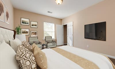 Bedroom, The Waterway Apartment Homes, 1