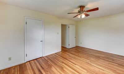 Bedroom, Eden Cliff Apartments, 2