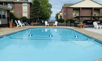 Pool, Polo Club Apartments & Townhomes, 2