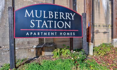 Community Signage, Mulberry Station Apartments, 2